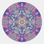 Hexagram doble de los pegatinas de Panspermia
