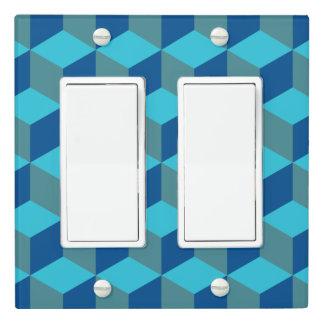 Hexagram - Monochrome Turquoise - Light Switch