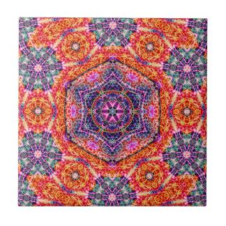 Hexagram of Persistence  Ceramic Tile