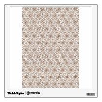 Hexagram pattern wall sticker