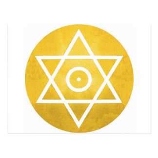 Hexagram Postcard