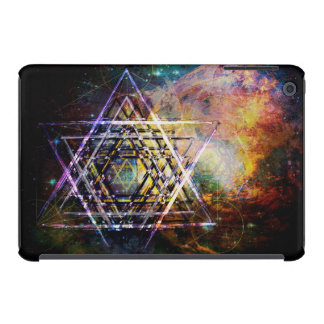 Hexagram sacred geometry symbol iPad mini retina cover