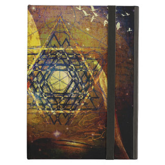 Hexagram sacred geometry symbol iPad air case