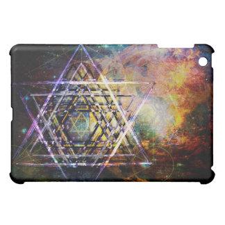 Hexagram sacred geometry symbol iPad mini cases