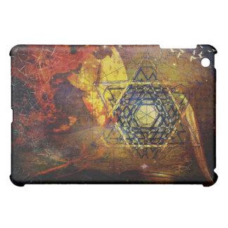 Hexagram sacred geometry symbol iPad mini covers