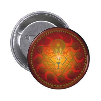 hexagram solar del sekhmet pin redondo 5 cm