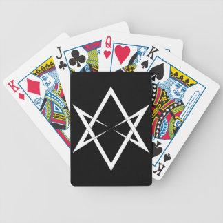 Hexagrama Unicursal Baralho Para Poker