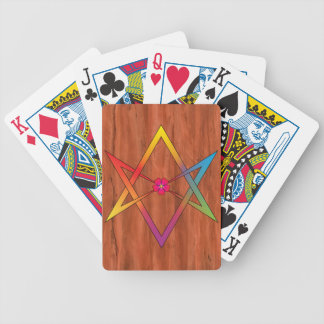 Hexagrama Unicursal Bicycle Playing Cards