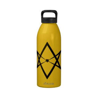 Hexagrama Unicursal Garrafa De Água