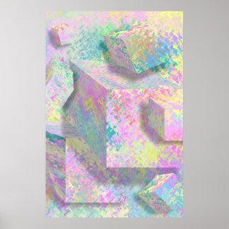 Hexahedron Print