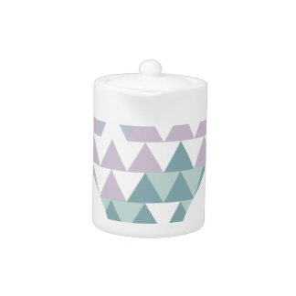 Hexahedrons Inside Idea Bulb Abstract Design Paste Teapot