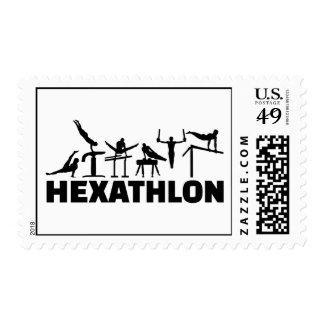 Hexathlon Postage