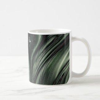 Hexed Digital Fractal Design Mugs