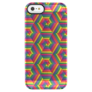 Hexy (Rainbow) Uncommon Clearly™ Deflector iPhone 5 Case