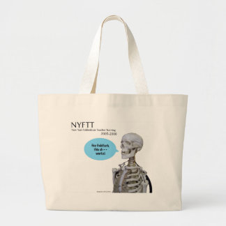 """hey8082--RED tote with """"hey"""" skeleton Tote Bag"""
