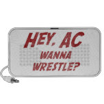Hey AC Want to Wrestle!? Speaker System