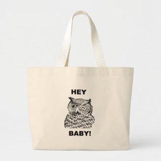 Hey Baby Canvas Bag