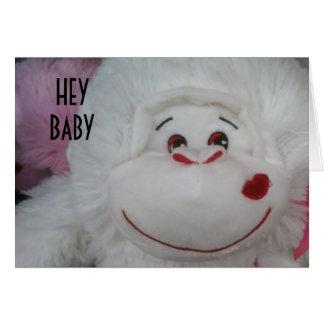 HEY BABY-HAPPY VALENTINES' DAY CARD