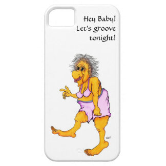 Hey baby! Let's groove tonight! iPhone SE/5/5s Case