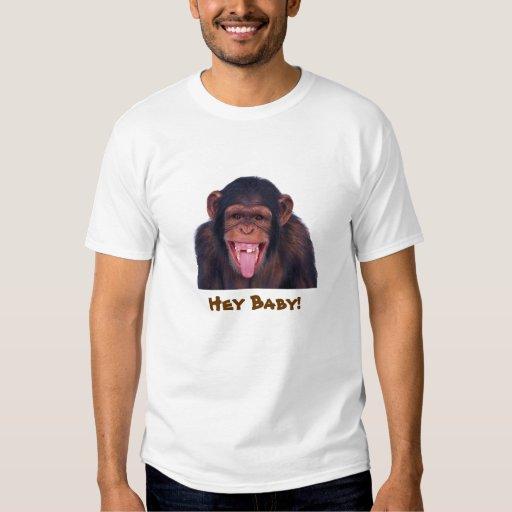 Hey baby monkey shirt