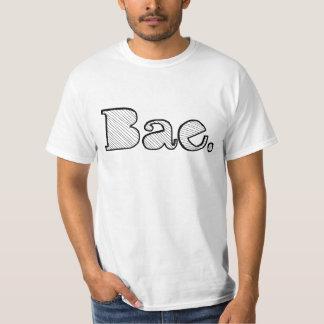 Hey Bae. girlfriend boyfriend slang T-Shirt