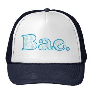 Hey Bae. girlfriend boyfriend slang Trucker Hat