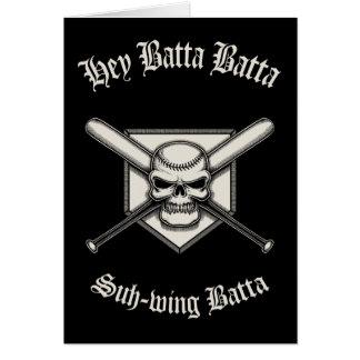 Hey Batta Batta Card