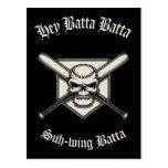 Hey Batta Batta Postcard