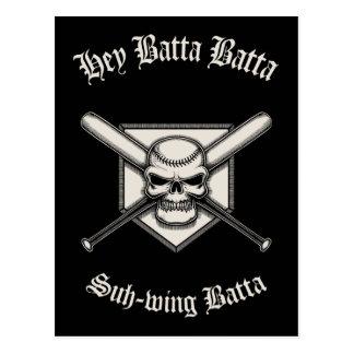 Hey Batta Batta Post Card