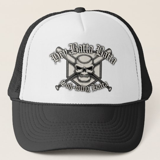 Hey Batta Batta Trucker Hat