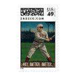 Hey Batter, Batter Postage Stamps