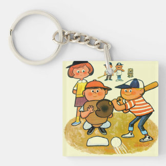 Hey Batter! Keychain