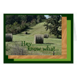 Hey Bday card-customize any occasion Card