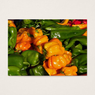 Hey Bell Peppers Business Card