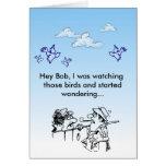 Hey Bob! Greeting Card