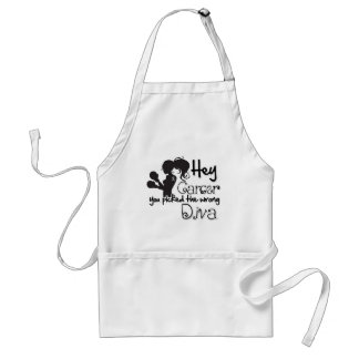 Hey Brain Cancer You Picked The Wrong Diva Apron