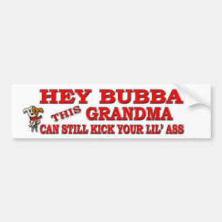 Hey Bubba Bumper Sticker