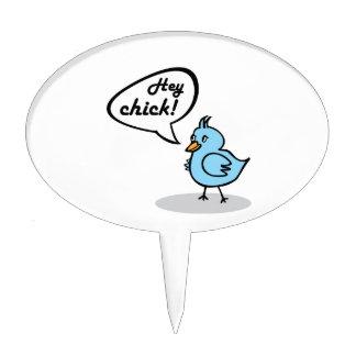 Hey Chick! Cake Picks