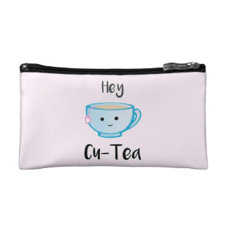 Hey Cu-Tea Cosmetic Pouch