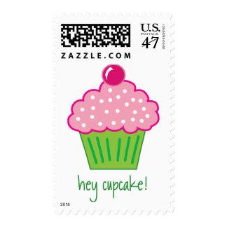 hey cupcake! postage stamp