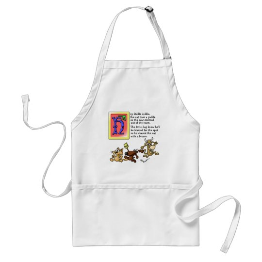 Hey Diddle Diddle Adult Apron