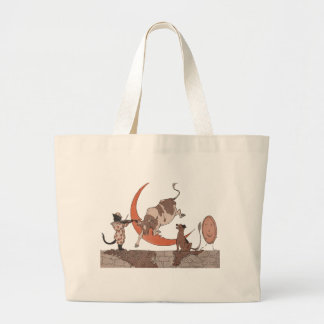 Hey Diddle Diddle Tote Bags