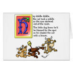 Hey Diddle Diddle Greeting Card