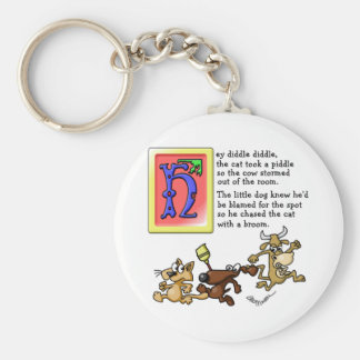 Hey Diddle Diddle Keychain