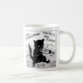 Hey Diddle Diddle Classic White Coffee Mug