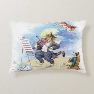 Hey, Diddle Diddle Nursery Rhyme Accent Pillow
