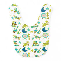 Hey Diddle Diddle Nursery Rhyme Baby Bib