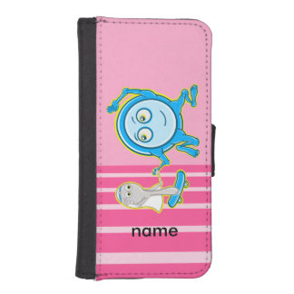 Hey Diddle Diddle Nursery Rhyme Design For Girls iPhone SE/5/5s Wallet Case