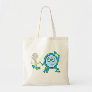 Hey Diddle Diddle Nursery Rhyme Design For Girls Tote Bag
