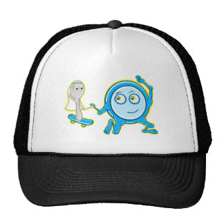 Hey Diddle Diddle Nursery Rhyme Design For Girls Trucker Hat